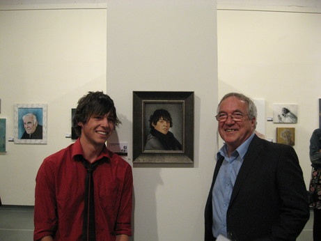 Adam Portraiture Award Opening